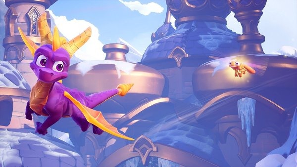 Sparx makes a welcome appearance in this High Definition Remaster
