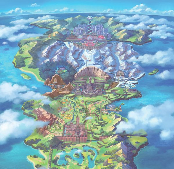 Pokémon Sword and Shield takes place in the Galar region, based off the UK!