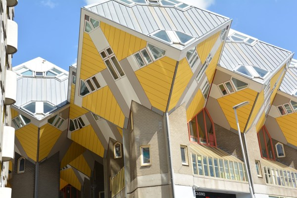 The cubehouses in Rotterdam