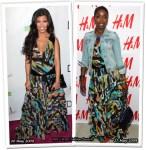 Who Wore Matthew Williamson For H&M Better? Kourtney Kardashian or Estelle