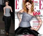 Emma Watson For Elle UK August 2009