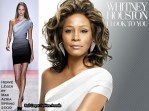 """Whitney Houston Wearing Herve Leger On """"I Look To You"""" Cover"""