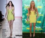 2009 Teen Choice Awards - Worst Dressed