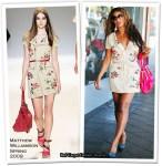 Runway To Sidewalk - Beyonce Knowles In Matthew Williamson