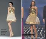 Runway To X Factor Week 1 - Cheryl Cole In Atelier Versace