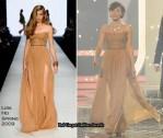 Runway To X Factor Week 6 - Dannii Minogue In Lisa Ho
