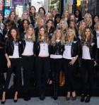 Victoria's Secret Supermodels Take Over Times Square