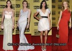 Who Was The Best Dressed At The Critic's Choice Awards?