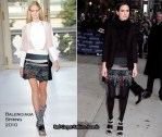 "Runway To ""Late Show With David Letterman"" - Jennifer Connelly In Balenciaga"