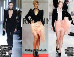 Runway To 'Rated R' Seoul Press Conference - Rihanna In Alexandre Vauthier Couture & Isaac Mizrahi