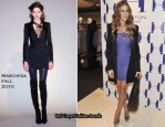 Halston Heritage Collection Launch - Sarah Jessica Parker In Marchesa