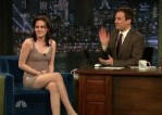 """Late Night with Jimmy Fallon"" - Kristen Stewart In Jasmine di Milo"