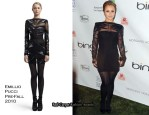 """""""Earth Day"""" VIP Reception Party - Hayden Panettiere In Emilio Pucci"""
