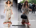 Runway To Sidewalk - Jennifer Lopez In Etro