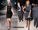 American Patrons Of Tate Artists' Dinner - Iman In Lanvin