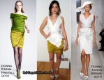 InStyle And ICM Celebrate The New York Upfronts - Emmy Rossum In Donna Karan