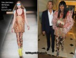 Vanity Fair/Gucci Party Honoring Martin Scorsese - Naomi Campbell In Valentino Couture