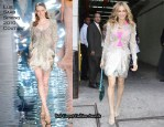 """Runway To """"Sex in the City 2"""" Press Conference - Sarah Jessica Parker In Elie Saab Couture"""