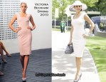 Runway To Royal Ascot -  Danielle Lineker In Victoria Beckham Collection