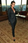 """Dinner with a Designer"" Celebrating Brian Atwood - Victoria Beckham In Victoria Beckham Suit Collection"