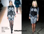 Runway To Fight for Life's Strictly Dinner - Holly Valance In Matthew Williamson