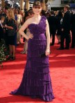 2010 Emmy Awards - Emily Deschanel In Max Azria Atelier