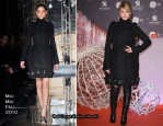 Melanie Laurent In Miu Miu – Champs-Elysees Christmas Illumination Launch