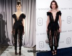 Leighton Meester In Marchesa - Harry Winston Court Of Jewels Recreation Launch