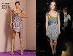 Leighton Meester In Vionnet - 2011 People's Choice Awards