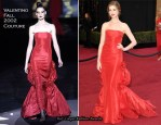 Anne Hathaway In Valentino Couture - 2011 Oscars