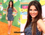 Victoria Justice In THEIA - 2011 Nickelodeon Kids' Choice Awards