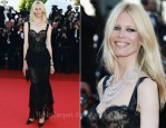"""Claudia Schiffer In Chanel Couture - 2011 Cannes Film Festival """"This Must Be The Place"""" Premiere"""