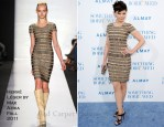 "Ginnifer Goodwin In Herve Leger by Max Azria - ""Something Borrowed"" LA Premeire"
