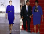 Michelle Obama In Preen - Air Force One
