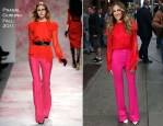 Sarah Jessica Parker In Prabal Gurung - Late Show With David Letterman