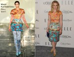 Gillian Jacobs In Mary Katrantzou - Elle's 18th Annual Women in Hollywood Tribute
