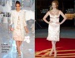 Jessica Chastain In Louis Vuitton - 'Another Happy Day' Marrakech Film Festival
