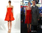 Emmy Rossum In Farah Angsana - 'New Year's Eve 2012 with Carson Daly'