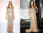 Kate Beckinsale In Jenny Packham - 'Underworld Awakening' LA Premiere