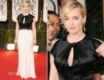 Kate Winslet In Jenny Packham - 2012 Golden Globe Awards