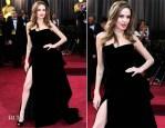 Angelina Jolie In Atelier Versace - 2012 Oscars