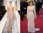 Kate Mara In Jack Guisso Couture - 2012 Oscars