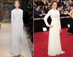 Shailene Woodley In Valentino Couture - Oscars