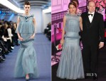 Charlotte Casiraghi In Chanel Couture - 2012 Monaco Rose Ball
