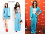 Lucy Hale In Rebecca Minkoff - 2012 ABC Family Upfront