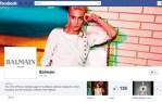 Balmain Launches Facebook & Twitter Accounts