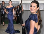 Lea Michele In Zac Posen - 2012 Glamour Women of the Year Awards