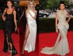 Models @ The Met Gala 2012