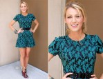 Blake Lively In Opening Ceremony - 'Savages' Press Conference
