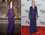 Ellen Barkin In L'Wren Scott - 2012 Tony Awards